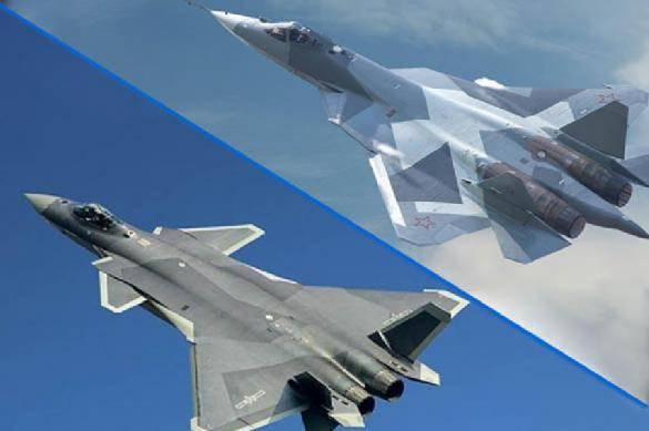 Resultado de imagem para NI рассказал о главном преимуществе Су-57 перед китайским истребителем J-20